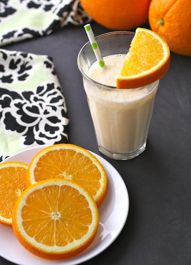 Fresh Orange Juice & Ginger Smoothies