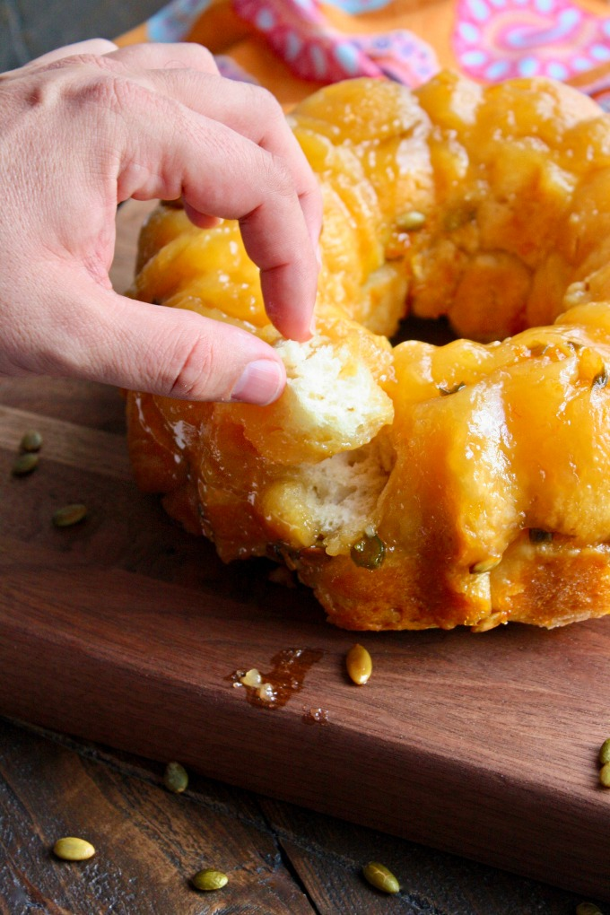 It's hard to resist Jalapeño Monkey Bread with Pepitas -- go ahead and try!