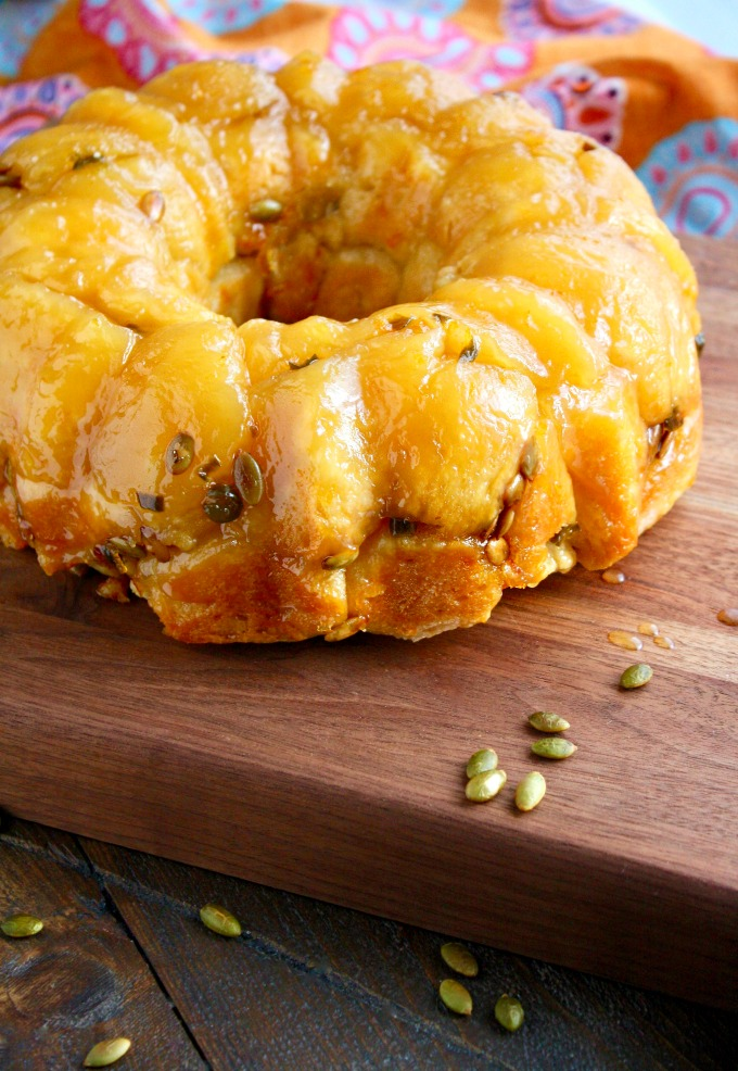 Jalapeño Monkey Bread with Pepitas is a fun and easy-to-make treat!