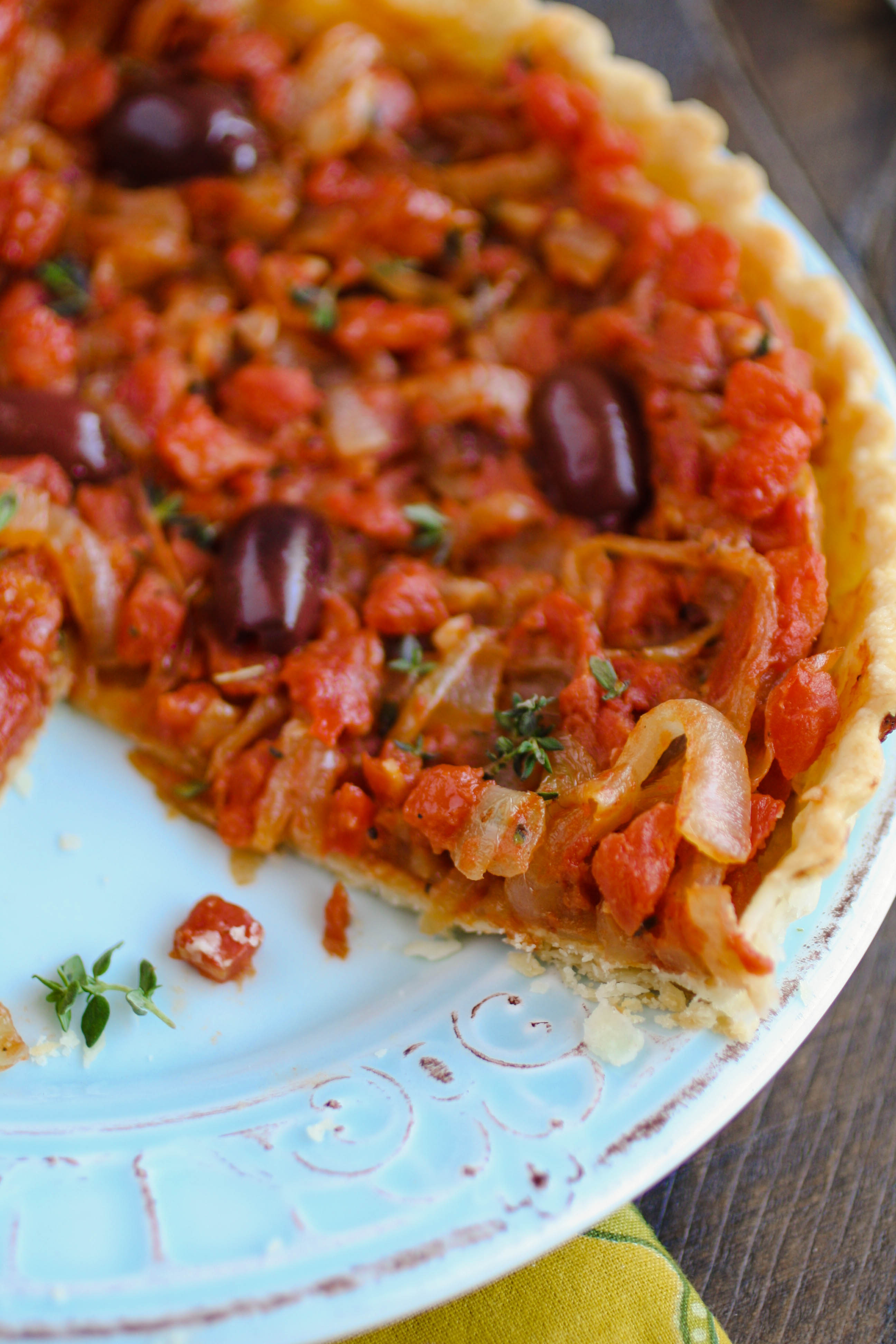 Pissaladière (French-style pizza) is a wonderful start for any meal or gathering. Serve this appetizer soon!