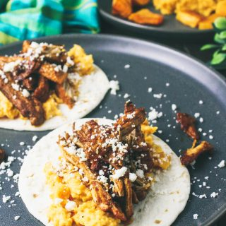 Pork Carnitas Tacos with Butternut Squash Puree is a fabulous dish. You'll love the color and flavors of Pork Carnitas Tacos with Butternut Squash Puree.