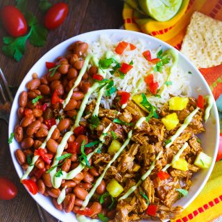 Pork al Pastor Bowls are such a treat for any meal. You'll enjoy the flavor of these Pork al Pastor Bowls!