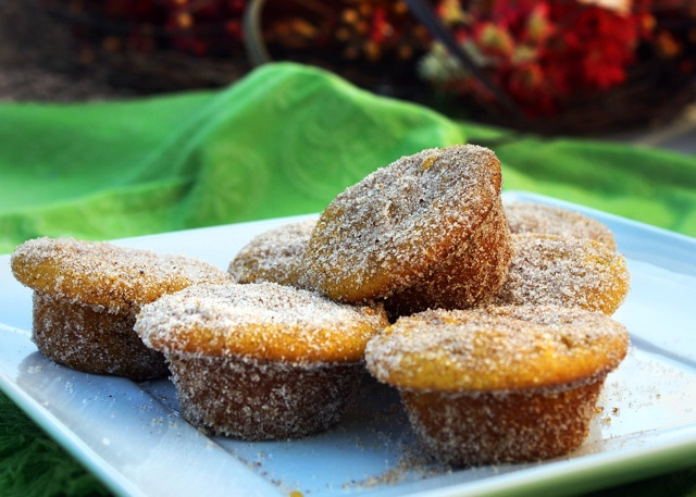 Gluten-free Pumpkin Doughnut Holes