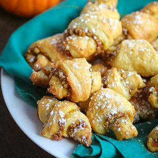 Pumpkin and Walnut Rugelach Cookies are a fab cookie for any celebration! You'll love Pumpkin and Walnut Rugelach Cookies.