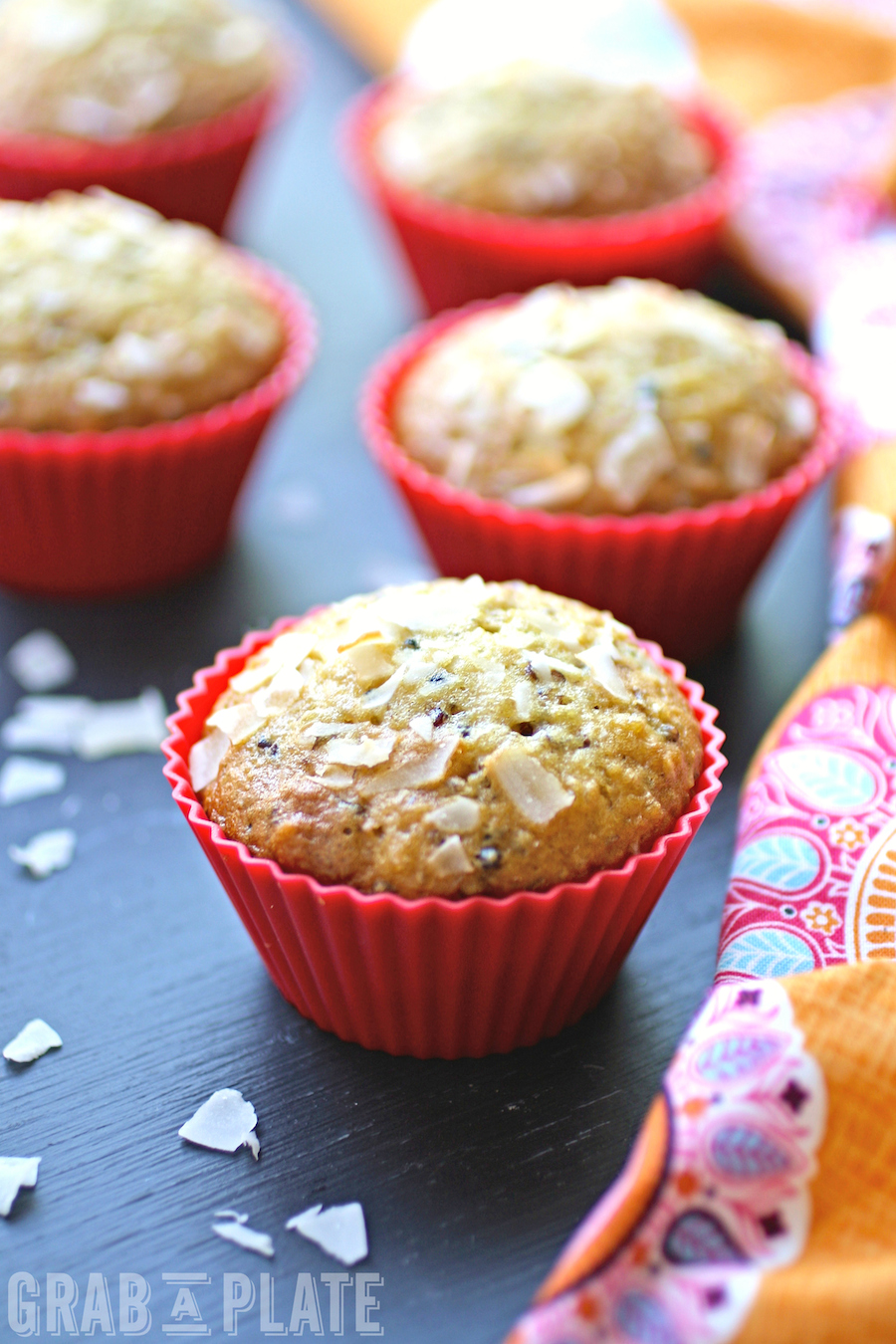Quinoa, Coconut and Date Muffins are filling and delicious