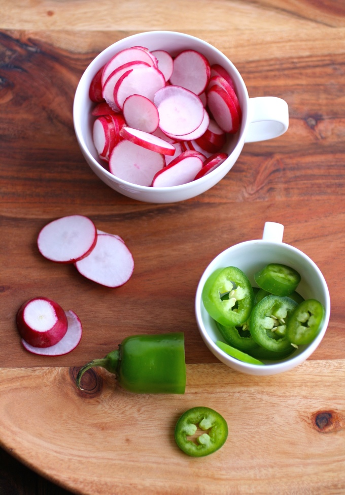 A few fresh veggies is almost all you need to make Quick, Spicy Pickled Radishes