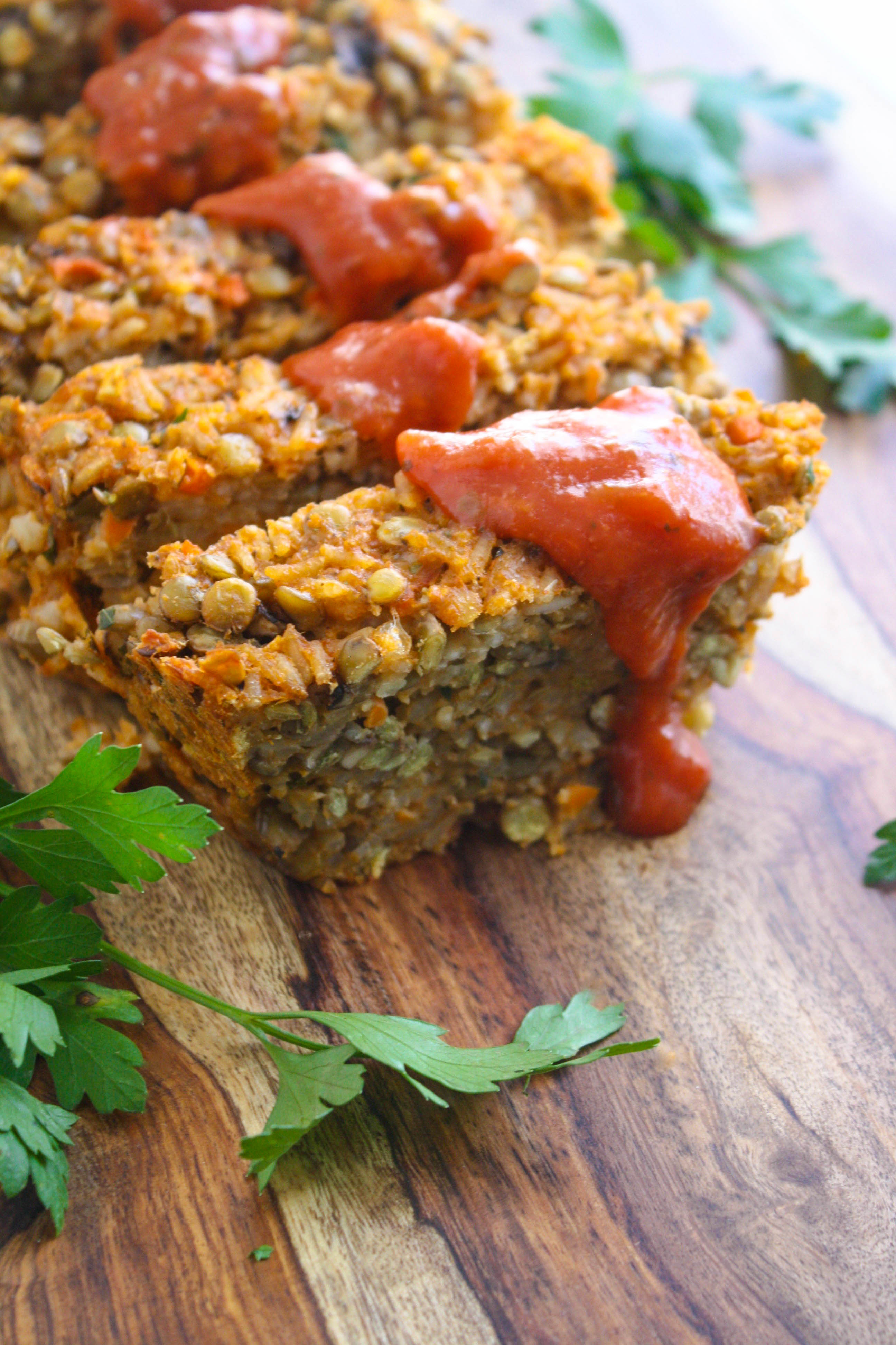 Rice and Lentil Loaf is a wonderful and hearty vegetarian option of a classic meal. You'll love this hearty and comforting dish.