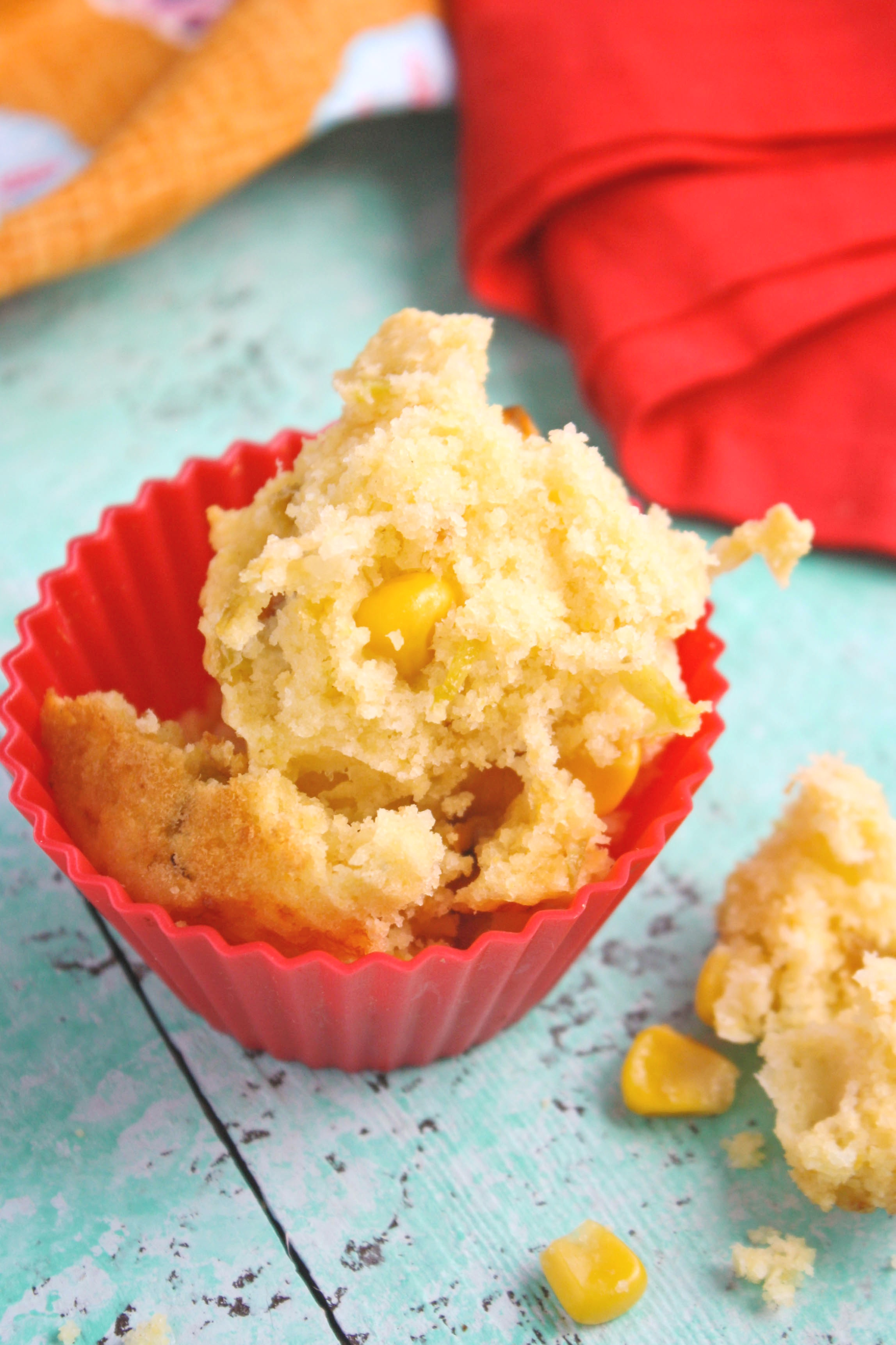 Roasted Green Chile Cornbread Muffins are a tasty treat to serve any time. You'll love the big flavors!
