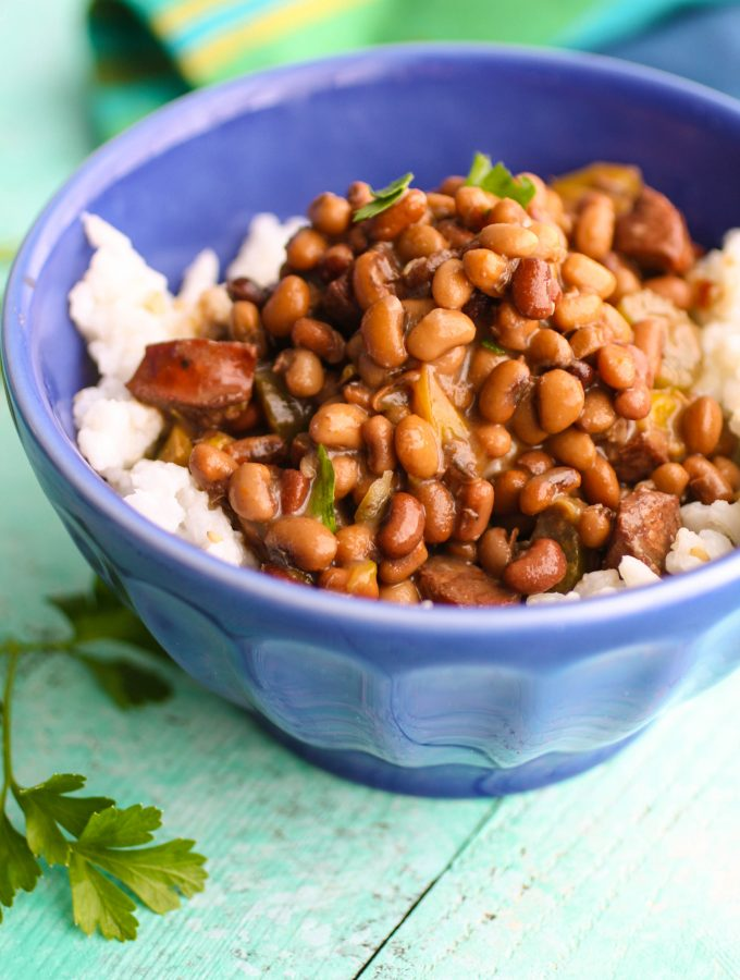 Sausage, Beans, and Rice is a simple and delicious Southern-style dish. You'll love this for the cool weather.