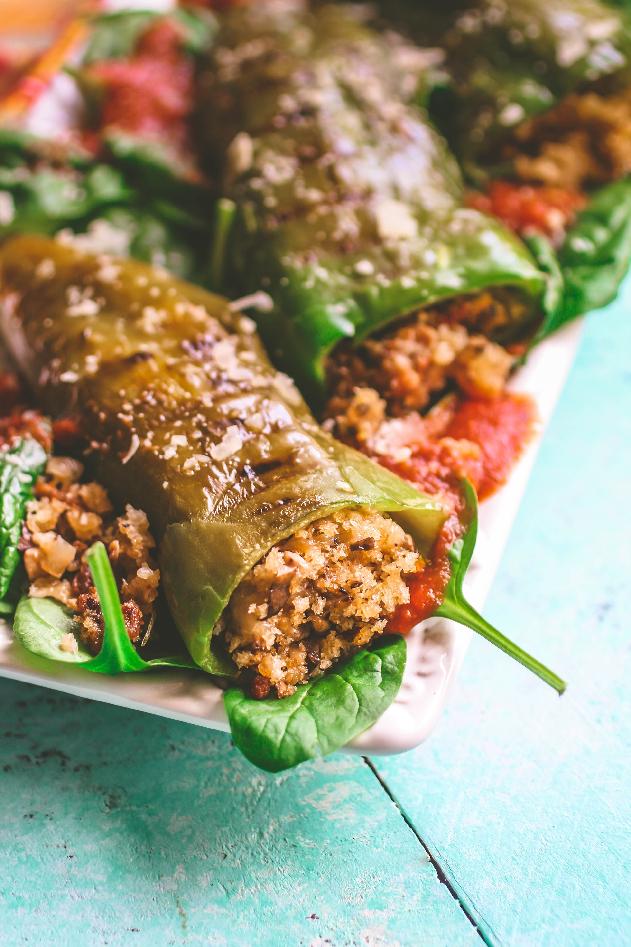 Sausage & Mushroom Stuffed and Grilled Peppers are perfect for grilling season. Sausage & Mushroom Stuffed and Grilled Peppers make a flavorful and fun main dish.
