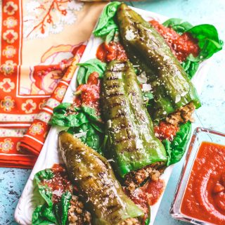 Sausage & Mushroom Stuffed and Grilled Peppers are an amazing summer dish. Sausage & Mushroom Stuffed and Grilled Peppers are fun to make and serve this season.
