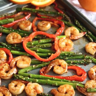 Sheet Pan Spicy Orange Shrimp with Vegetables is a fabulous meal. Make it as soon as you can!