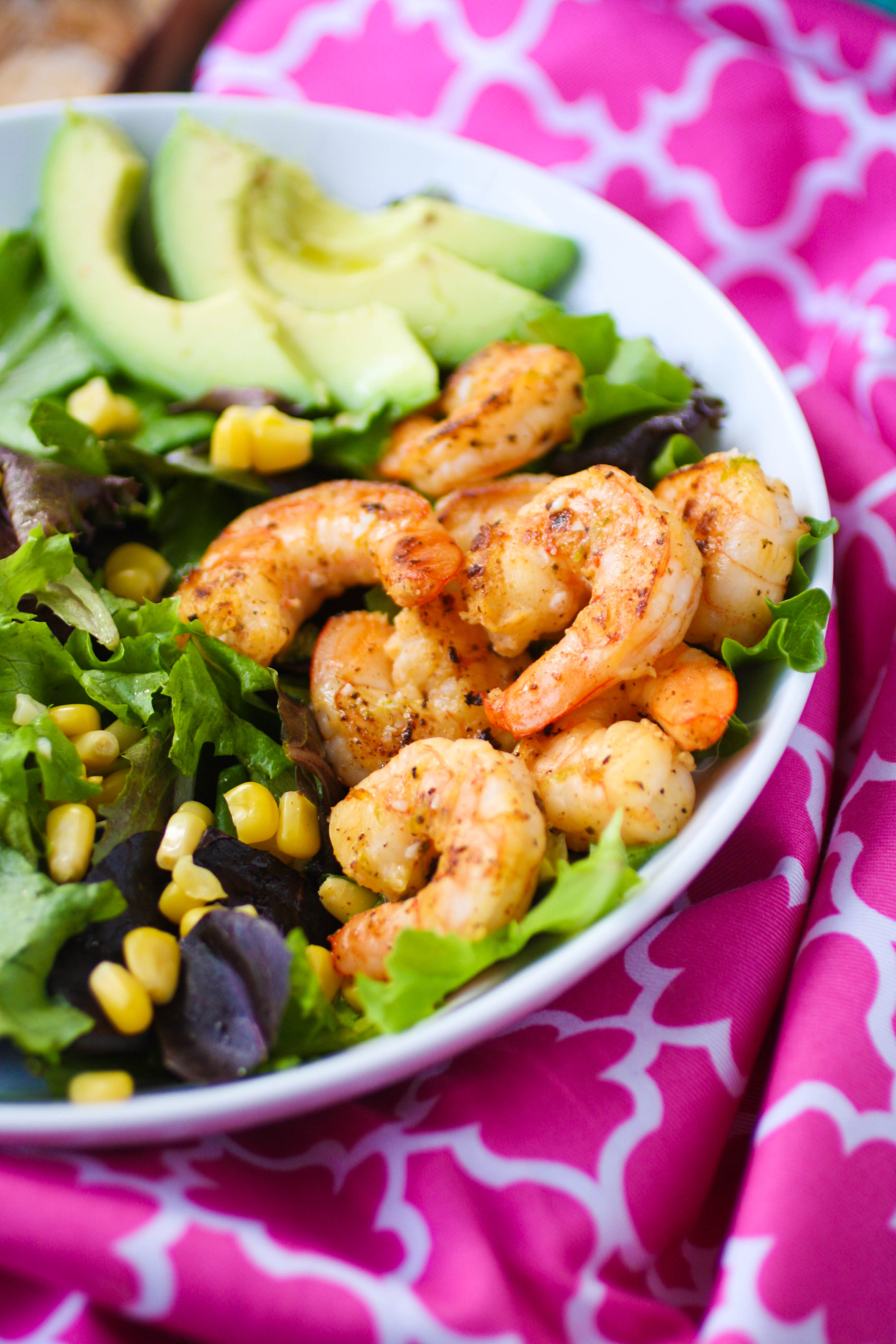 Simple Skillet Shrimp Salad with Lime Vinaigrette is a simple salad that's delicious! Make Simple Skillet Shrimp Salad with Lime Vinaigrette for your next meal.
