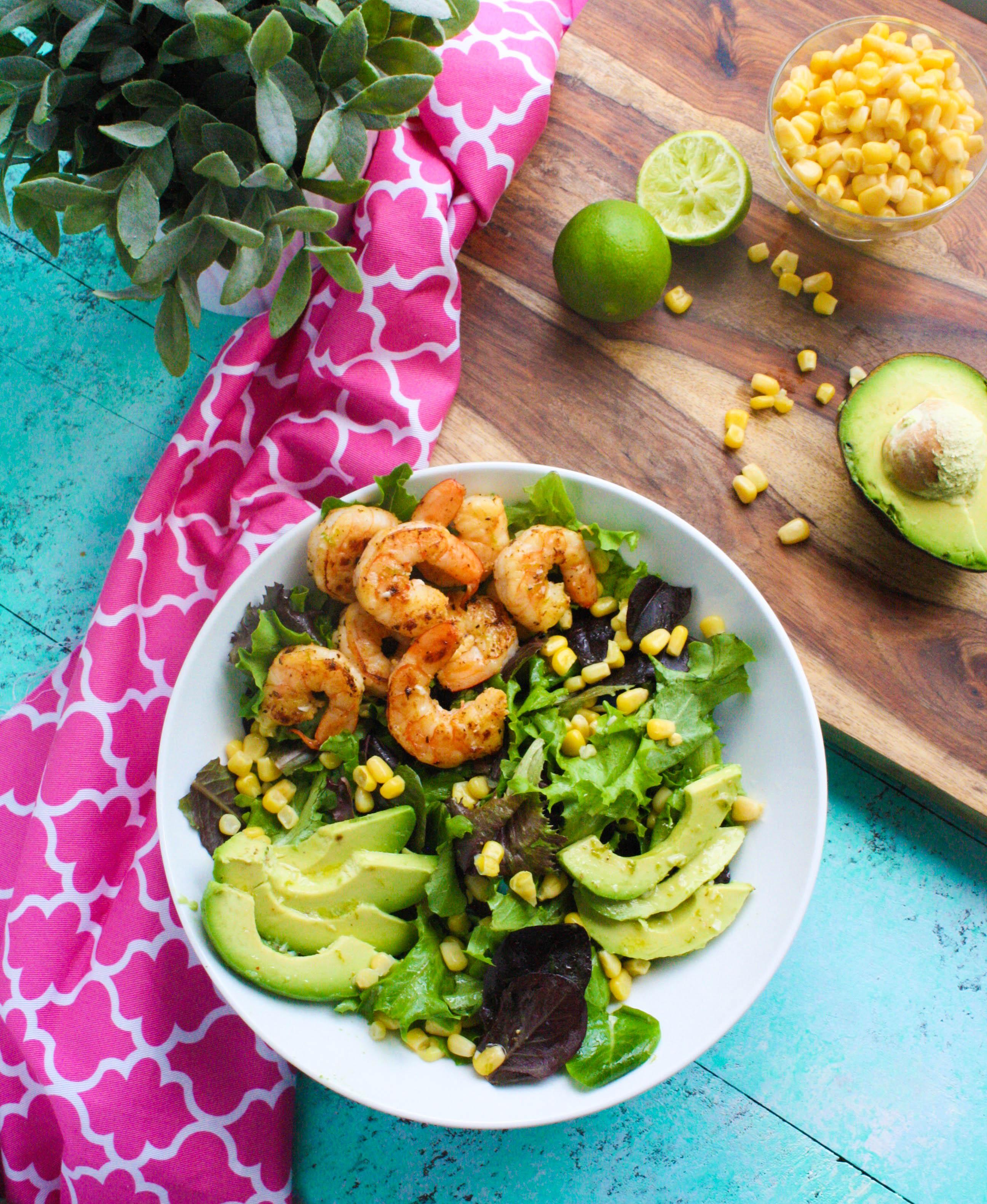 Simple Skillet Shrimp Salad with Lime Vinaigrette is so easy to toss together. Simple Skillet Shrimp Salad with Lime Vinaigrette is a treat for mealtime!