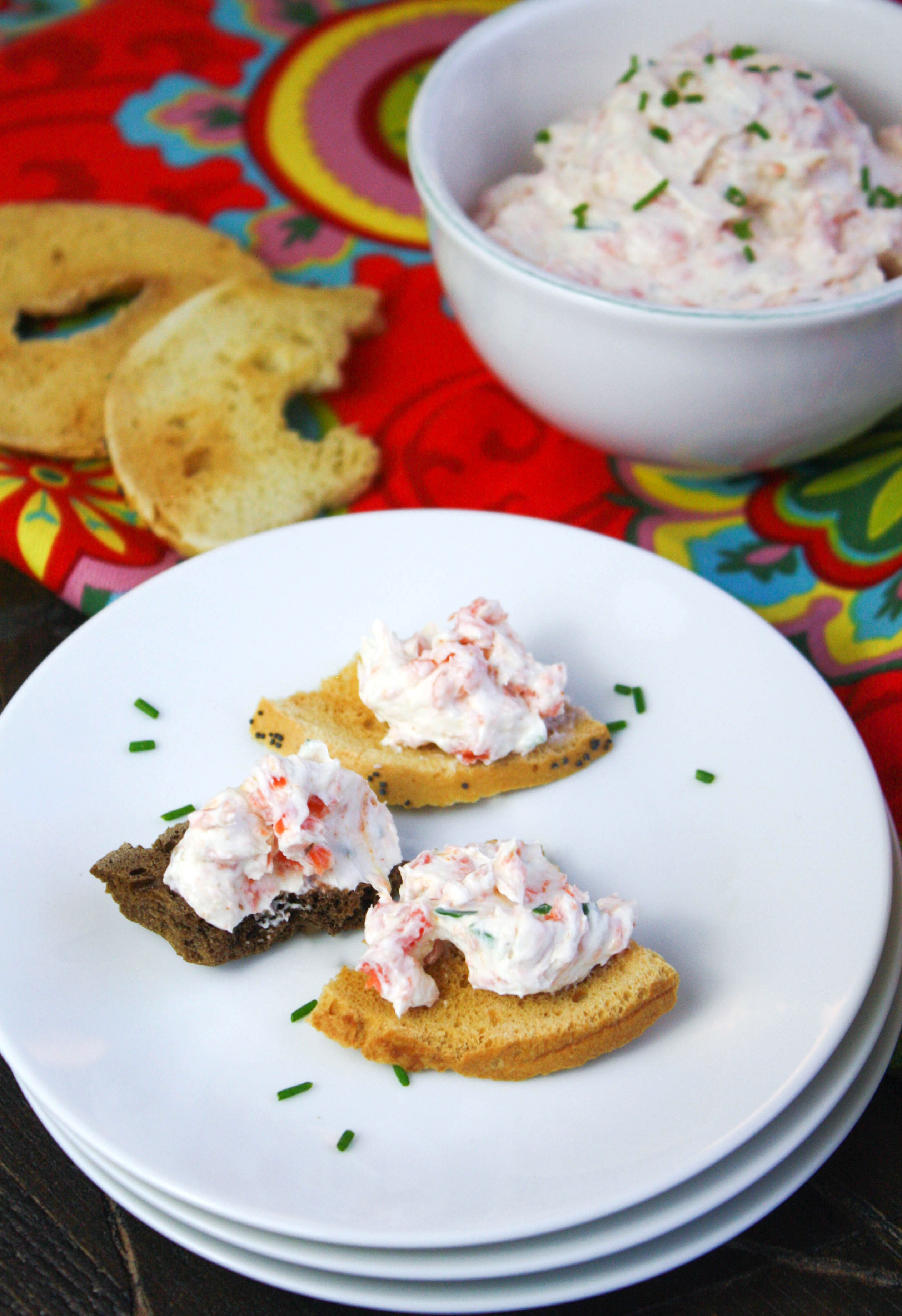 Simple Smoked Salmon Spread is an easy appetizer you'll love to serve! This salmon spread is a real treat for any get together.