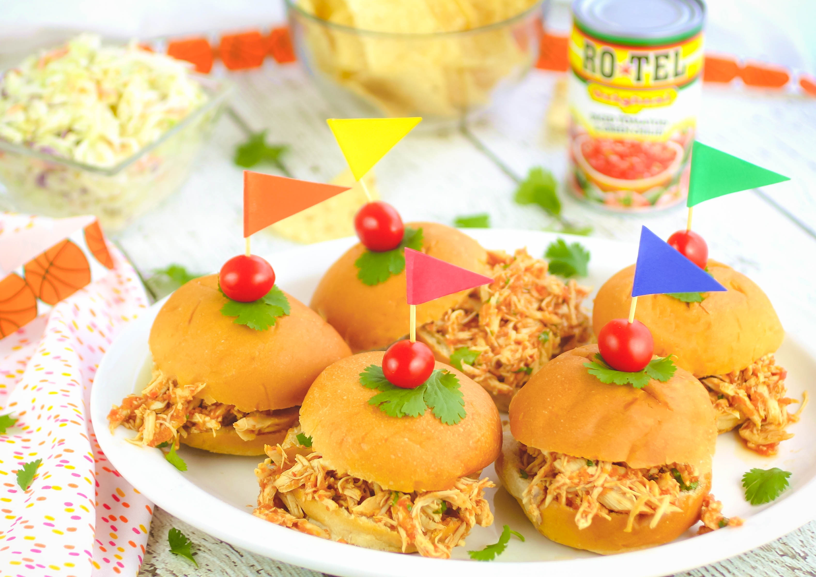Slow Cooker Southwestern Pulled Chicken Sandwiches are ideas for parties. You'll love these Slow Cooker Southwestern Pulled Chicken Sandwiches.