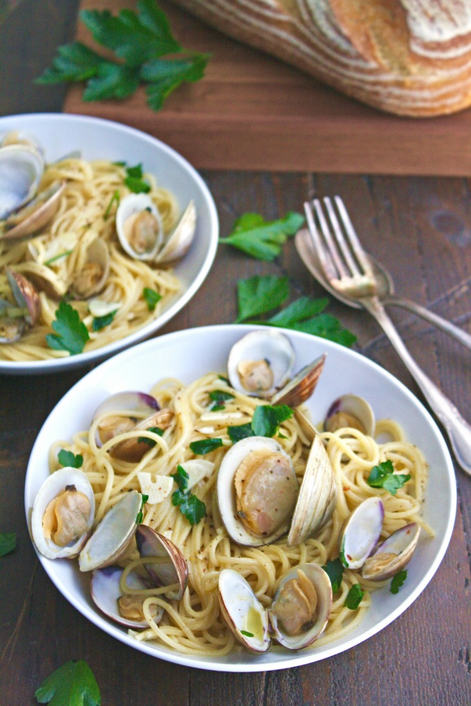 Spaghetti alle Vongole (Spaghetti with Clams) is a delightful dish that is easy to make -- perfect for a celebration!
