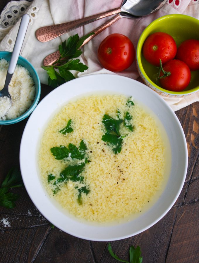 Stracchiatella soup (Italian egg drop soup) is simple and delicious. You'll want this as a go-to soup, for sure!