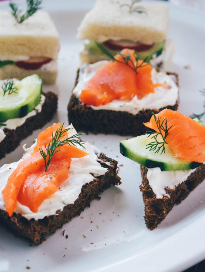 Serve these lovely Tea Sandwiches with Herbed Cream Cheese for a special occasion.