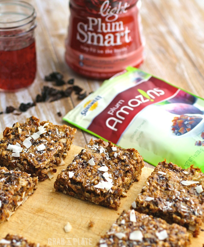 Chewy Coconut and Dried Fruit Bars are a delicious and healthy snack