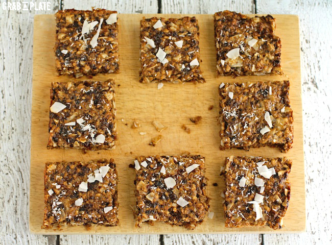 Delight in Chewy Coconut and Dried Fruit Bars
