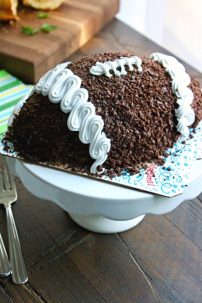 I Love Ice Cream Cakes come in all sorts of fun themes -- like this Carvel Game Ball Ice Cream Cake -- they're delicious!