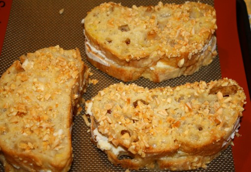 Retouched French Toast Sand breaded bread