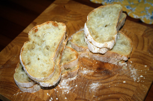 Retouched French Toast bread