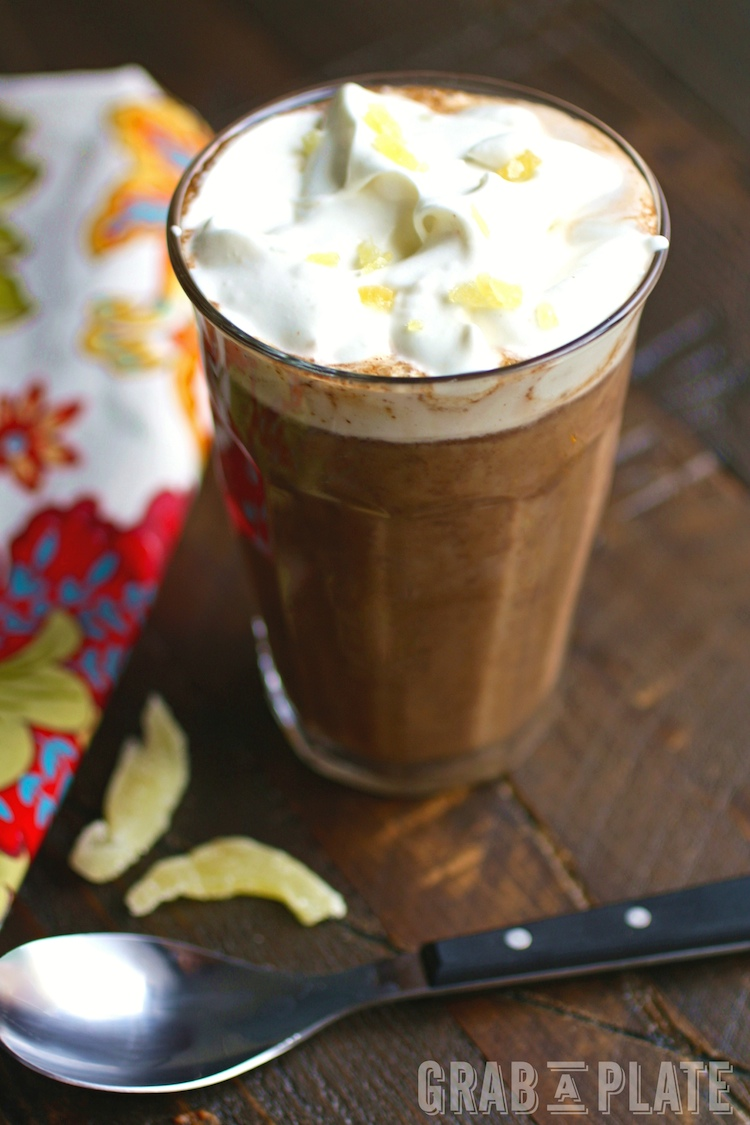 Share and delight in these Pumpkin Mochas with Ginger Whipped Topping. They're easy to make at home for a real treat!