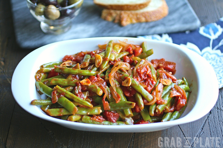 Keep Green Beans in Tomato Sauce in mind as you get ready for your holiday side dish choices!