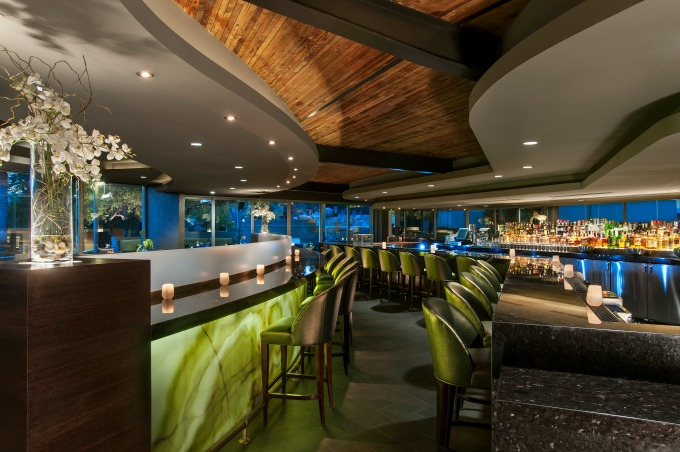 The Jade Bar at the Sanctuary Resort & Spa on Camelback Mountain in Scottsdale, Arizona.