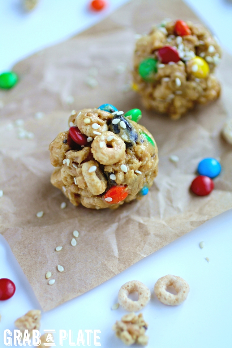 No-Bake Monster Cereal Bites are a satisfying and fun treat!