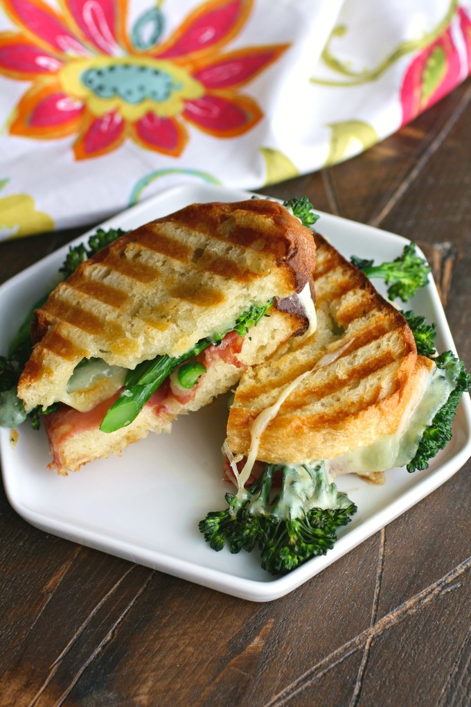 Try these sandwiches, stat! Broccolini, Salami and Provolone Panini are fabulous!