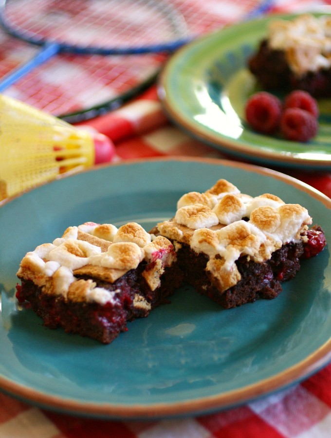 S'mores-n-berry Bars: National S'mores Day is August 10