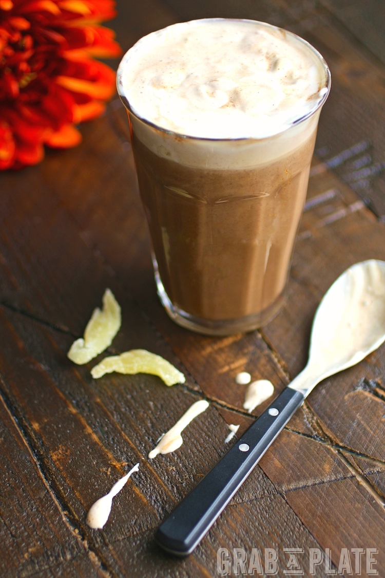 Enjoy a hot, seasonal drink like Pumpkin Mochas with Ginger Whipped Topping in your own home!