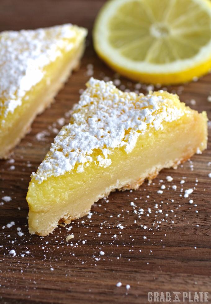 No matter how you slice them, Lemon Squares with Lavender & Limoncello are fabulous!